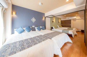 沖縄 コンドミニアムホテル 寝室