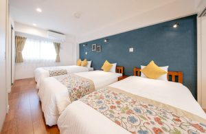 ホテルベッドルーム 沖縄