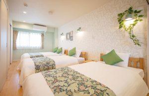 ホテルベッドルーム 浦添市ホテル