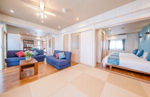 ホテル和室スペース