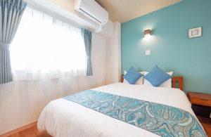 ホテル寝室 ベッドルーム