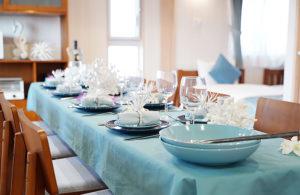 ホテルテーブルディナー